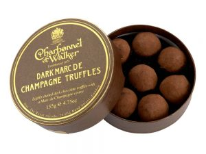 Dark Marc de Champagne Chocolate Truffles