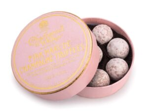 Pink Marc de Champagne Chocolate Truffles 135g