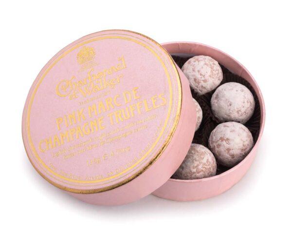Pink Marc de Champagne Chocolate Truffles 135g